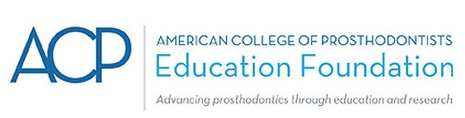ACP logo American College of Prosthodontists
